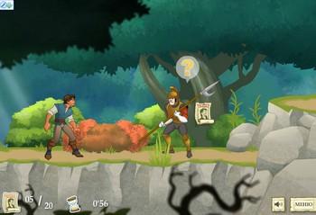 Картинка к игре Рапунцель, запутанная история