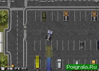 Картинка к игре Парковка грузовика с прицепом