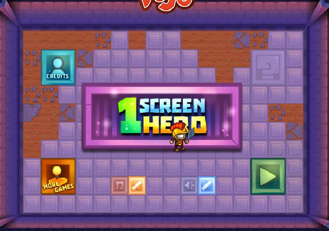 Игра Герой экрана