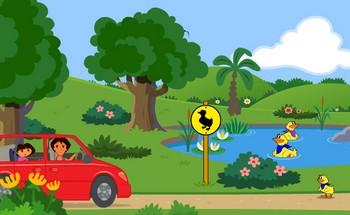 Картинка к игре Даша городское приключение