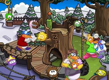 Картинка к игре Прятки с пингвинами