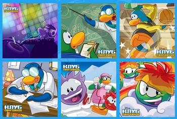 Картинка к игре Клуб пингвинов, пазлы