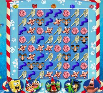 Картинка к игре Хлебоутки, рождественские забавы