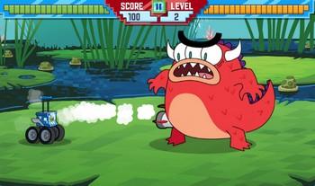 Картинка к игре Хлебоутки, битва робота