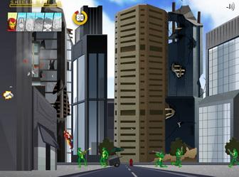 Картинка к игре Мстители и человек муравей на защите