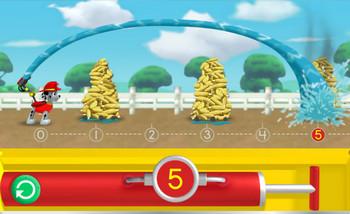 Картинка к игре Щенячий патруль, Маршал спасает кукурузу