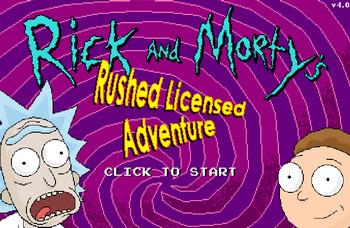 Приключения Рика и Морти картинка 1