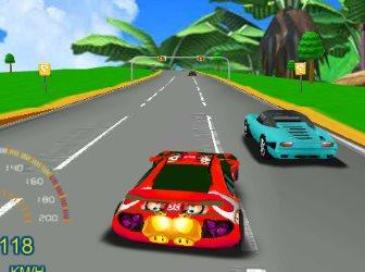 Игра Экстремальные гонки 3Д