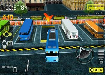 Картинка к игре Парковка автобуса в 3д