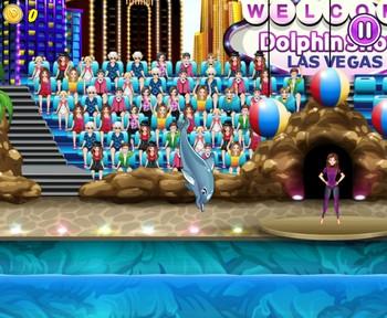 Картинка к игре Дельфин выступает 4