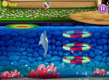 Картинка к игре Дельфин выступает 5