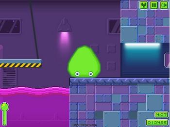 Картинка к игре Слизистая лаборатория