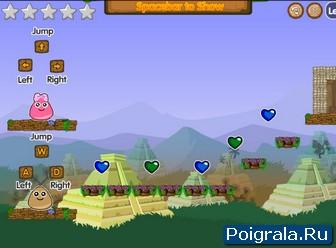 Картинка к игре Приключение Поу