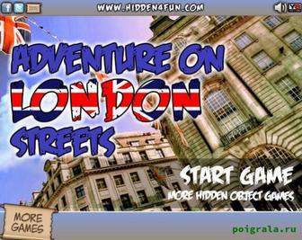 Картинка к игре Приключения на лондонских улицах