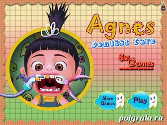 Игра Лечим зубы Агнес