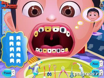 Картинка к игре Лечим зубы Агнес