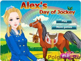Алекс - девушка жокей картинка 1