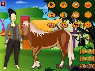 Картинка к игре Алиса и ее лошадь