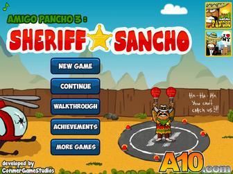 Игра Амиго Панчо 3: Шериф Санчо