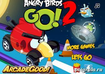 Игра Angry birds go 2