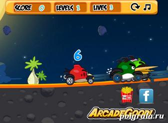 Картинка к игре Angry birds go 2