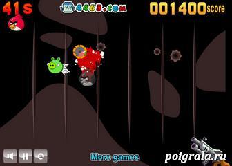Картинка к игре Стрелялка злые птички