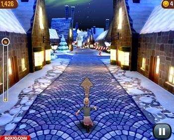 Картинка к игре Злая бабуля бежит в Рождество