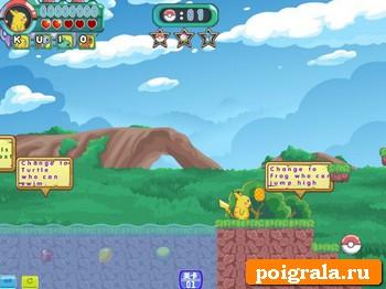 Картинка к игре Приключения покемонов