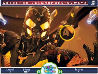 Картинка к игре Человек-муравей, скрытый алфавит