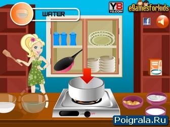 Картинка к игре Готовим мороженое для девочек