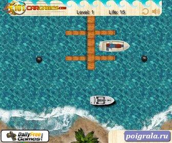Картинка к игре Парковка лодки