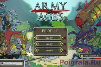 Игра Army of ages