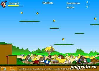 Картинка к игре Приключения Астерикса и Обеликса
