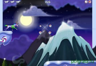 Картинка к игре Атака робота единорога в рождество
