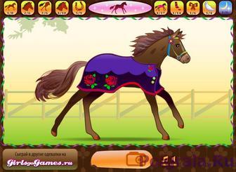 Картинка к игре Маленькая лошадка