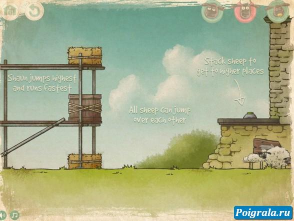 Картинка к игре Баранчик Шон, потерянные под землей