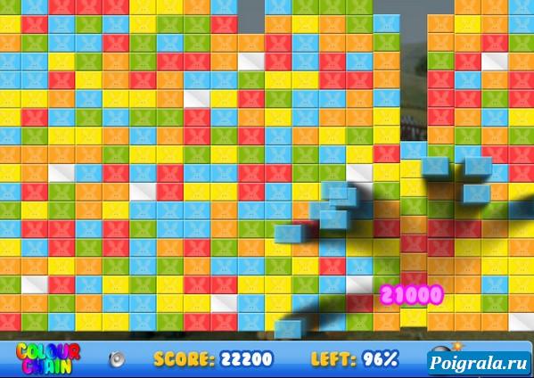 Картинка к игре Баранчик Шон, цветная цепочка