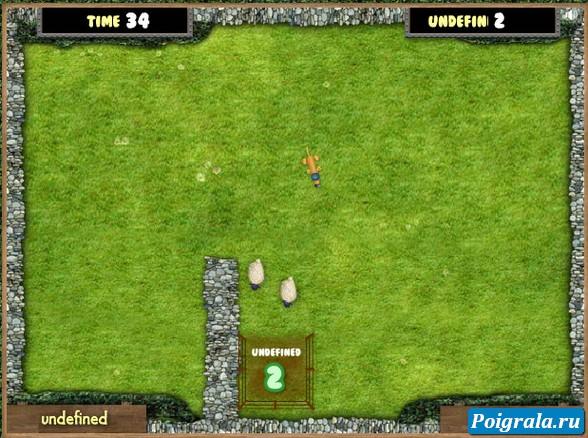Игра Битцер загоняет овец