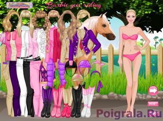 Картинка к игре Барби наездница