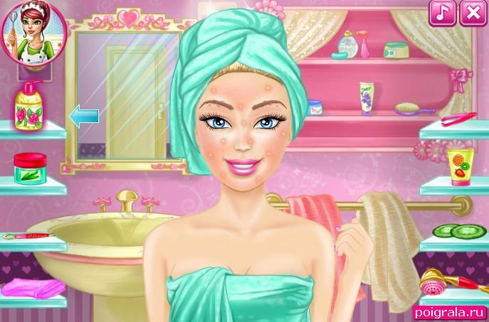 Картинка к игре Макияж Барби