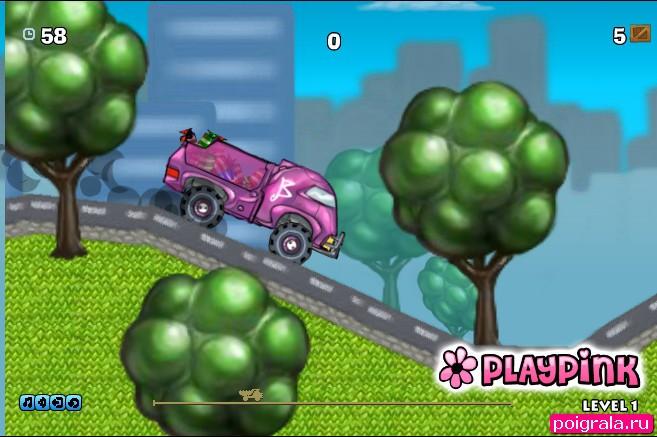 Картинка к игре Барби на камазе