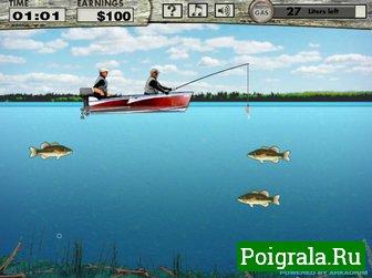 Игра Рыбалка на Басса