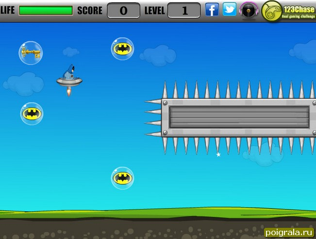 Картинка к игре Приключения Бетмена
