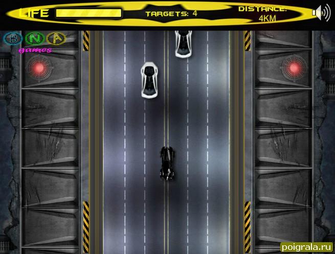 Картинка к игре Бетмен гонки на машине