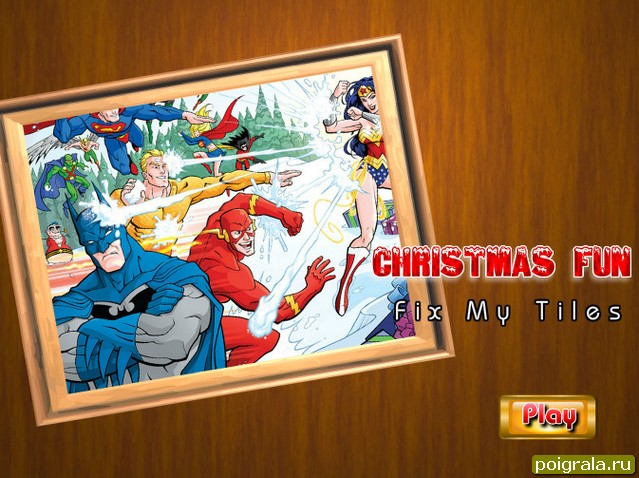 Бетмен пазл картинка 1