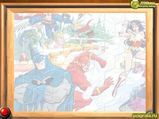Картинка к игре Бетмен пазл