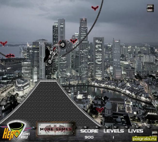 Картинка к игре Бетмен ночной гонщик