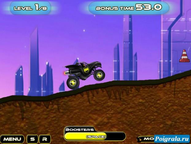 Картинка к игре Машина Бетмена 3
