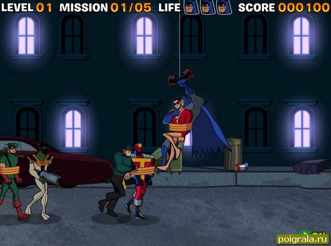 Картинка к игре Бетмен спасение заложников