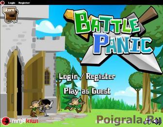 Игра Battle Panic